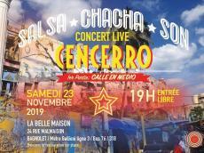 Cencerro Concert Salsa le samedi 23 novembre 2019, 93170 Bagnolet