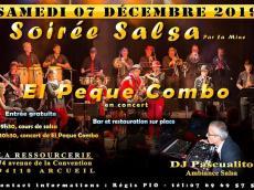 El Peque Combo Concert Salsa le samedi 7 décembre 2019, 94110 Arcueil
