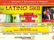 Nelson Palacios y su Cosa Loca Concert Salsa le samedi 7 décembre 2019, 95500 Le Thiallay