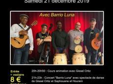 Barrio Luna Concert Son cubain le samedi 21 décembre 2019, 94240 L'Haÿ-les-Roses