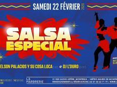 Nelson Palacios y su Cosa Loca Concert Salsa le samedi 22 février 2020, 93100 Montreuil