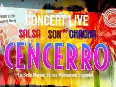 Cencerro Concert Salsa le samedi 22 février 2020, 93170 Bagnolet