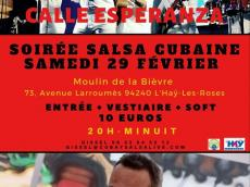 Calle Esperanza Concert Son cubain le samedi 29 février 2020, 94240 L'Haÿ-les-Roses