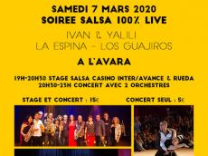 Festival Acousti'danse #5 Concerts Salsa le samedi 7 mars 2020, 94260 Fresnes