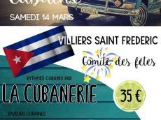 La Cubanerie Concert Salsa le samedi 14 mars 2020, 78640 Villiers-Saint-Frédéric