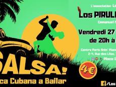 Los Piruleros Concert Salsa le vendredi 20 mars 2020, 75019 Paris