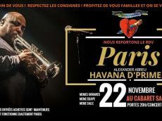 Alexander Abreu y Havana D'Primera Concert Salsa cubaine le dimanche 22 novembre 2020, 75019 Paris