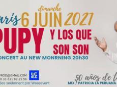 Pupy y Los Que Son Son Concert salsa cubaine le dimanche 6 juin 2021, 75010 Paris