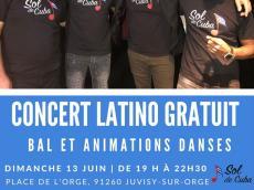 Sol de Cuba Concert Latino le dimanche 13 juin 2021, 91260 Juvisy-sur-Orge