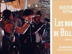 Los Burritos de Belleville Concert Salsa le mercredi 29 septembre 2021, 750011 Paris
