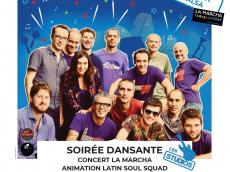 La Marcha Concert Salsa le samedi 2 octobre 2021, 92350 Le Plessis-Robinson